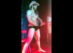 Mind-blowing  stripper with swell dick..