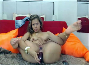 Marvelous Supple Latina toying with..
